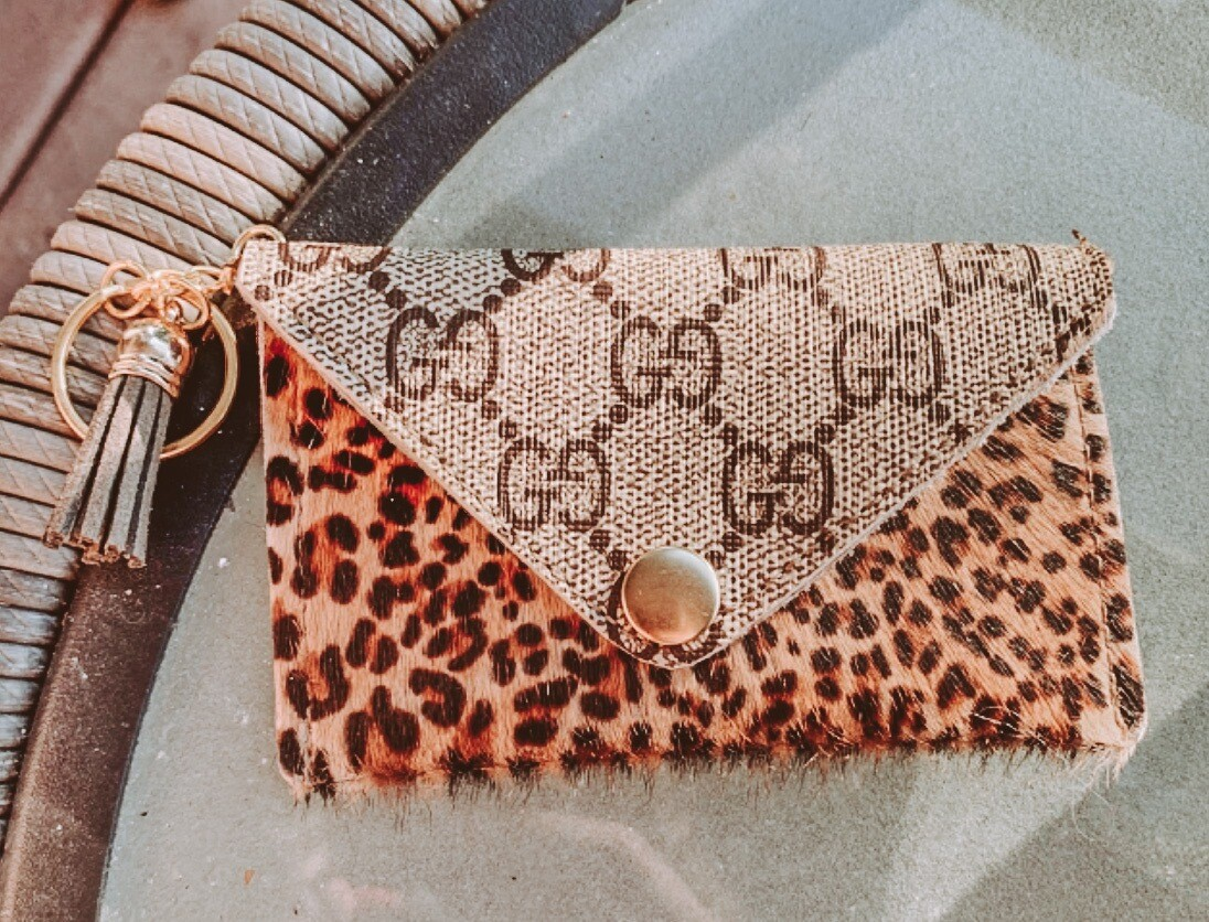 Gucci Leopard Cardholders