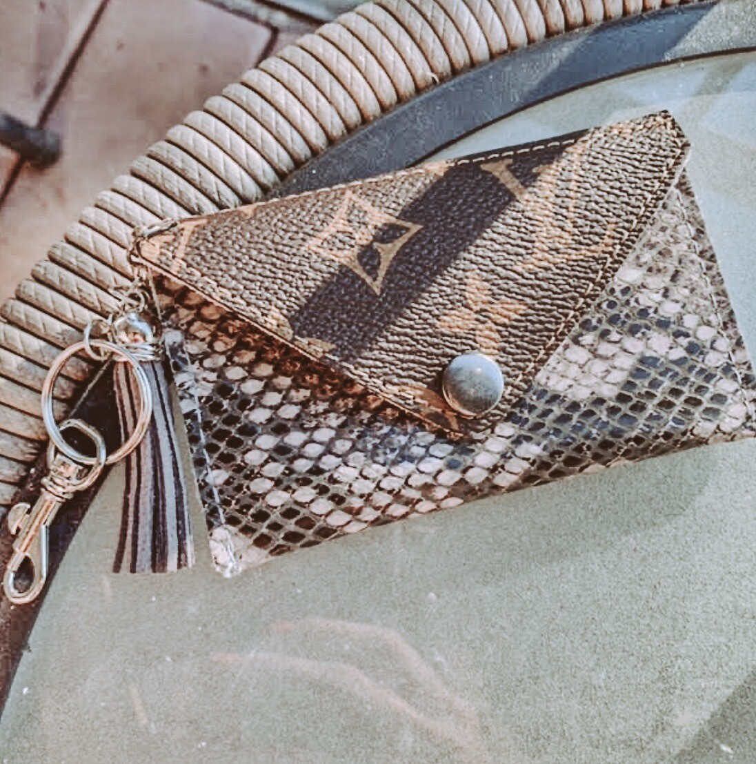 Louis Vuitton Snake Cardholders