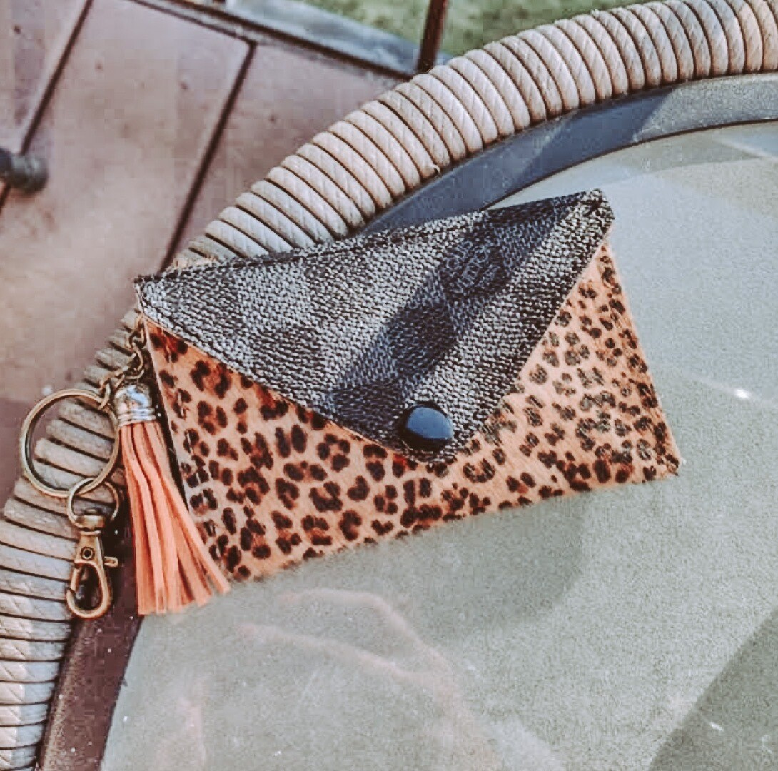 Louis Vuitton Leopard Cardholder