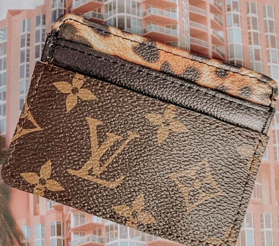 Leopard Cardholder