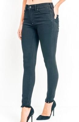 High Rise Skinny Frey Jeans