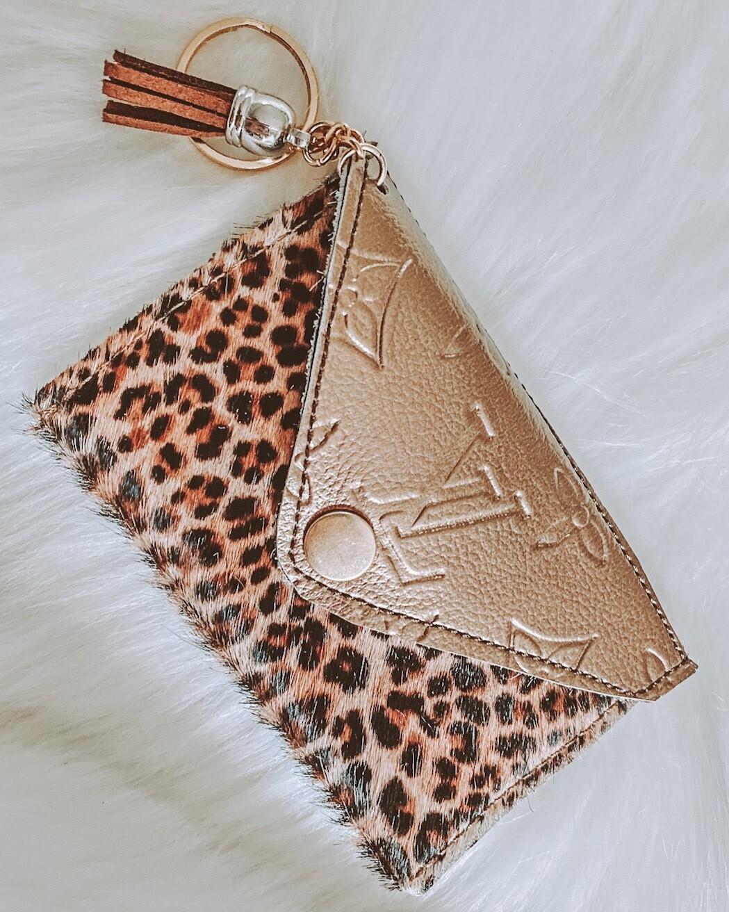Cheetah Girl Cardholder
