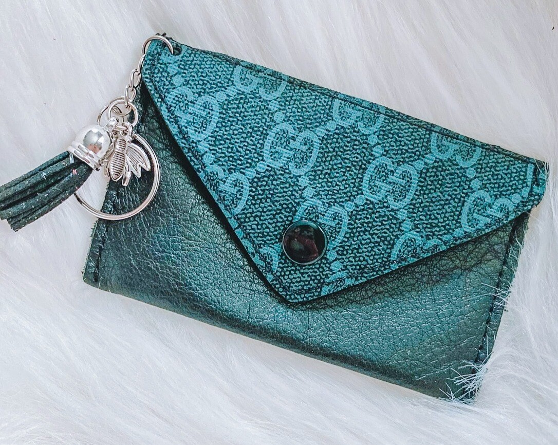 Blueberry Gucci Cardholder