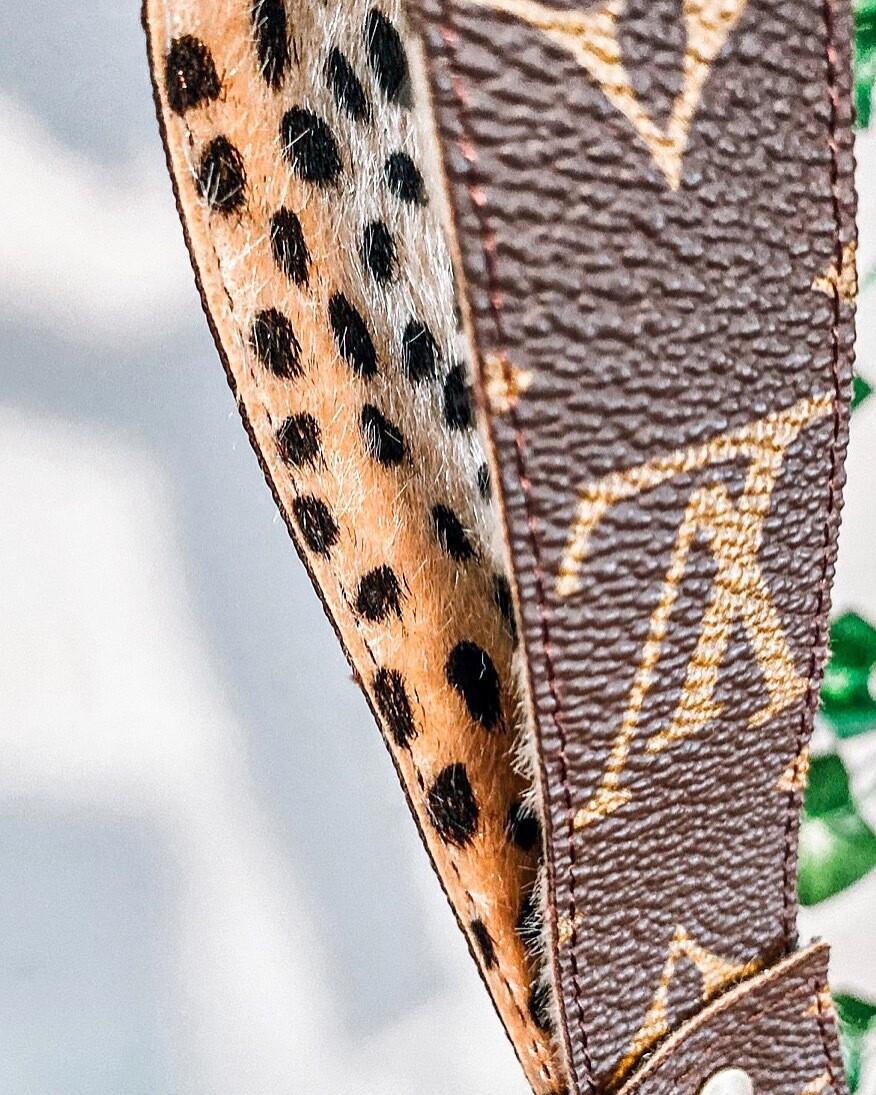 Leopard Louis Vuitton Wrislet Key Fob