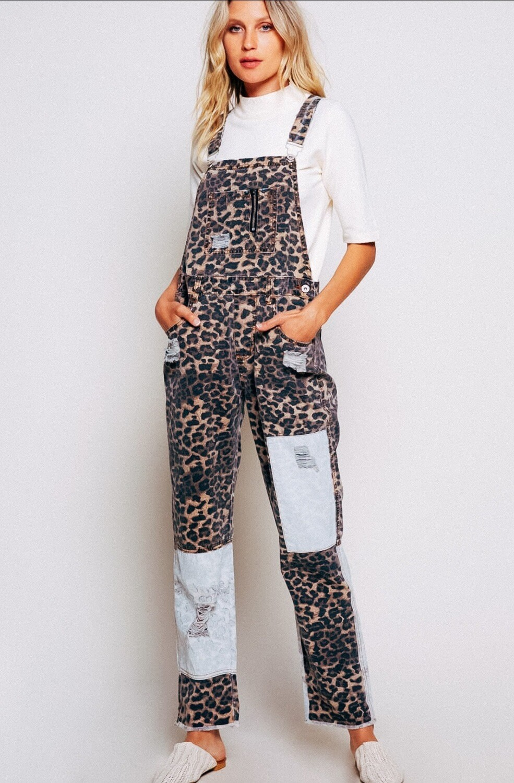 Leopard overalls