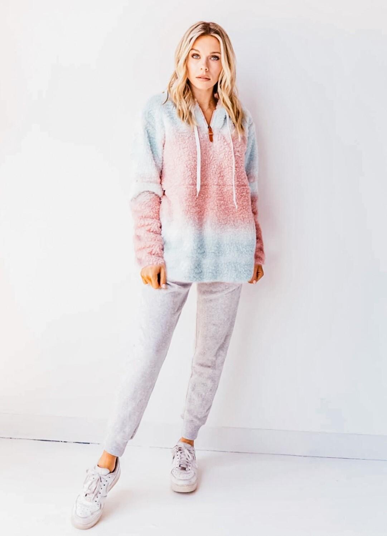 Cotton Candy Unicorn Sherpa