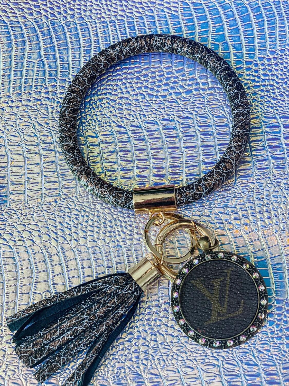 Black Speckle Bangle