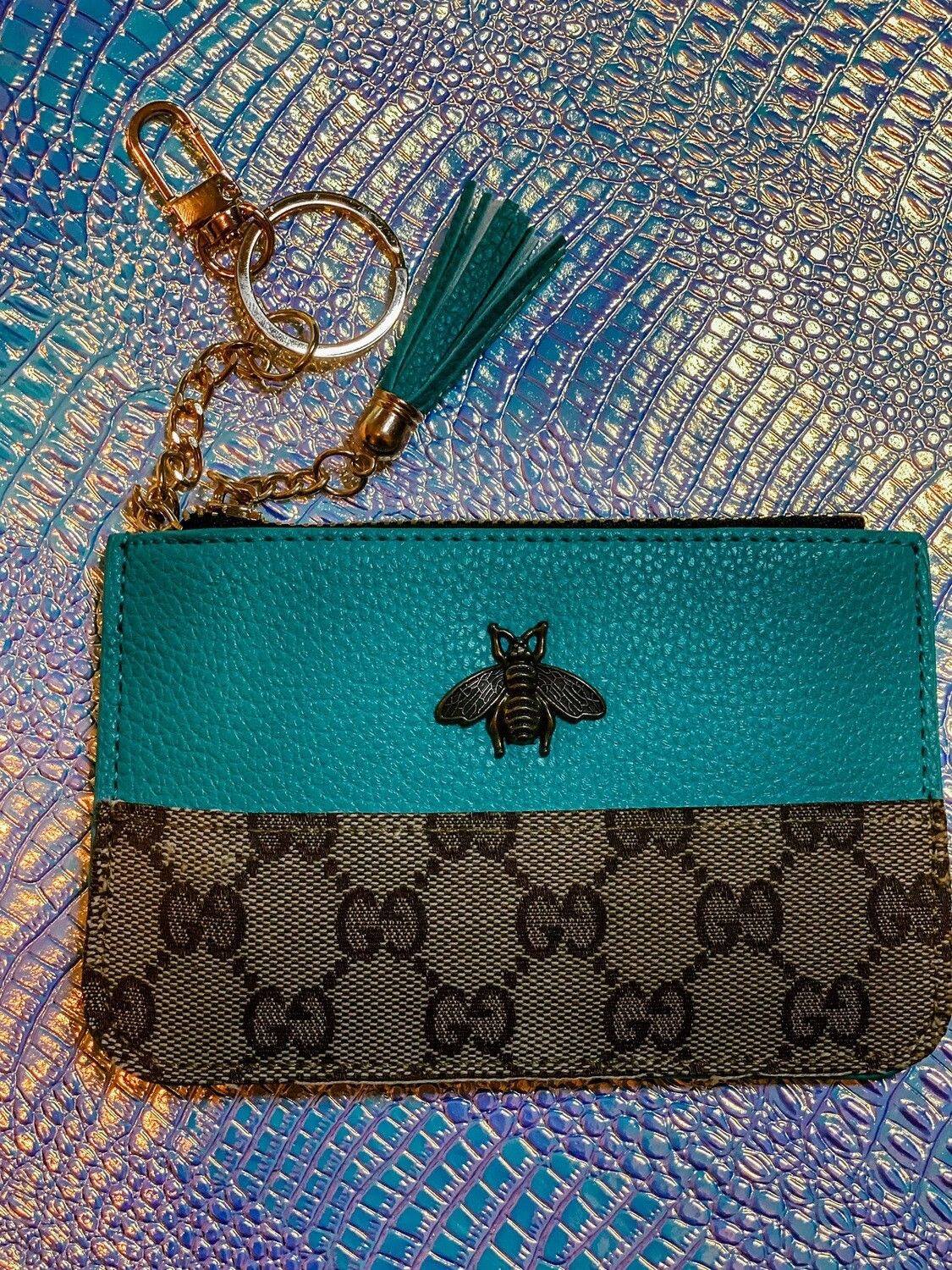 Gucci Bee Turquoise
