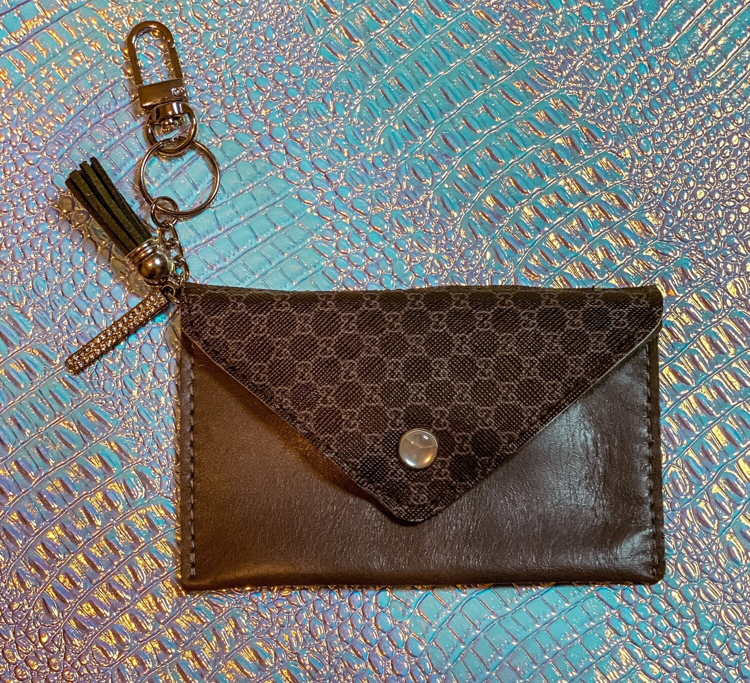 Authentic Gucci Jewel Cardholder
