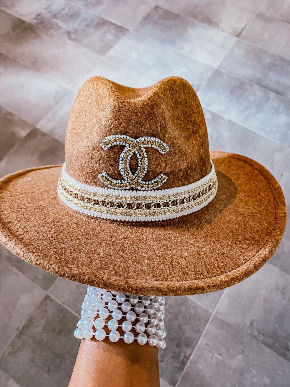 Chanel Trimmed Glam Hat
