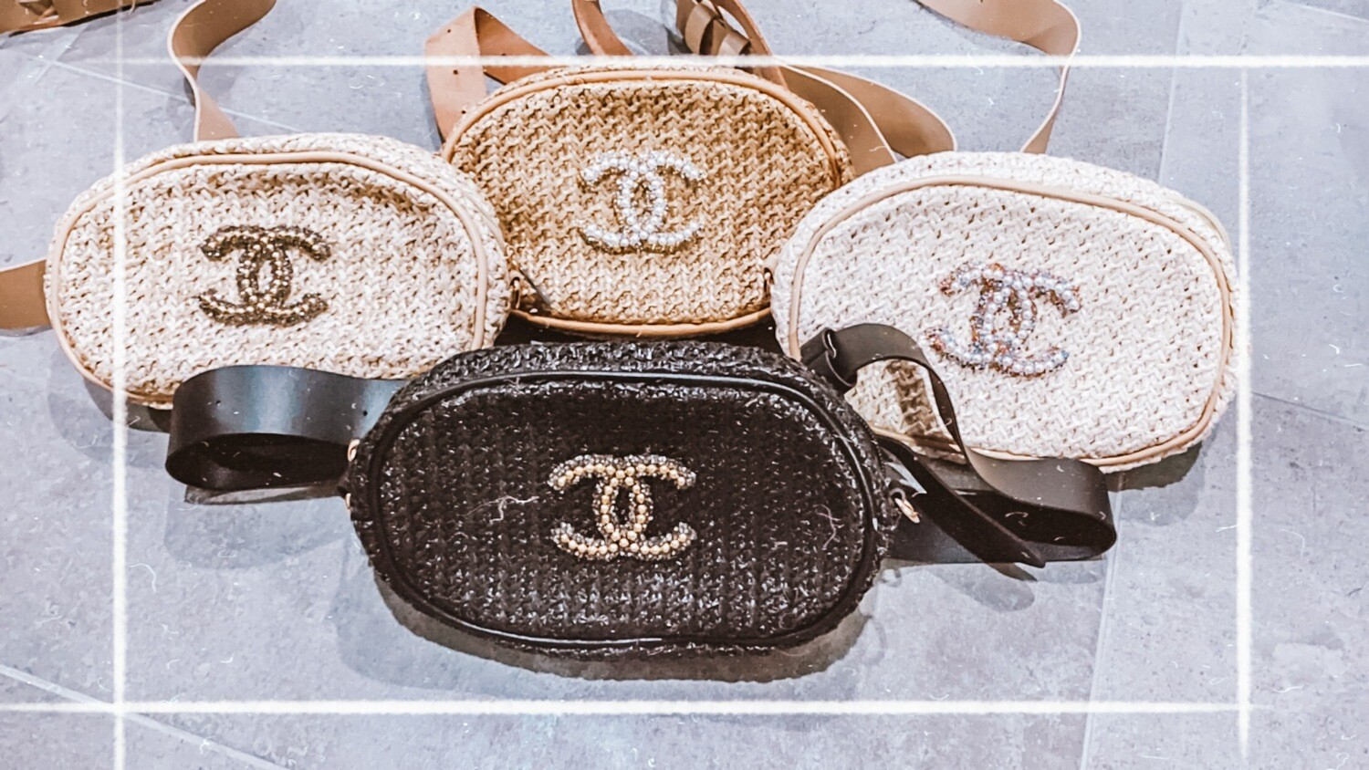 Glam Chanel Fanny Pack