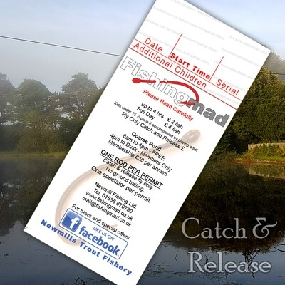 Catch and Release Permit