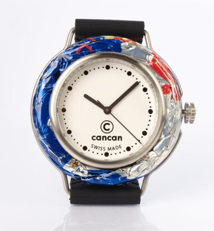 Cancan Uhr - Weisses Ziffernblatt