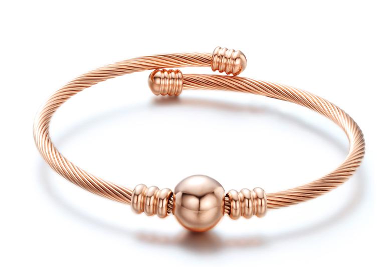 Bracelet Damen - Bullet - Rosegold