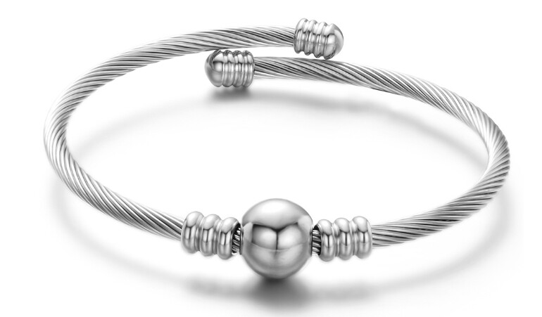 Bracelet Damen - Bullet - Silver