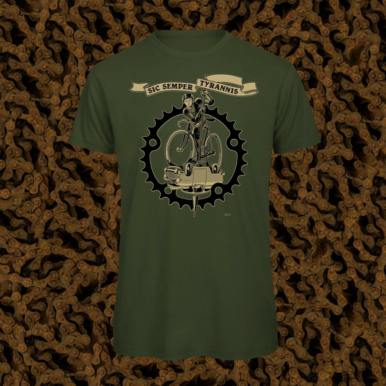 St. George auf dem Fahrrad, T-Shirt