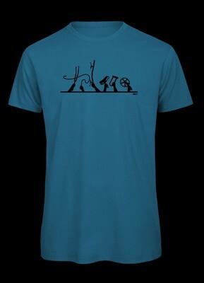 Critical Mass, T-Shirt für Radfahrer.