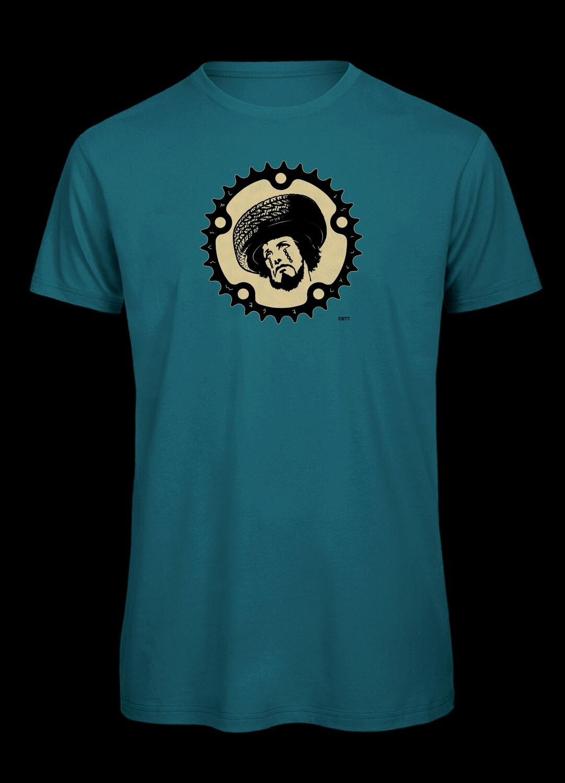 Jesus was a cyclist. T-Shirt.
