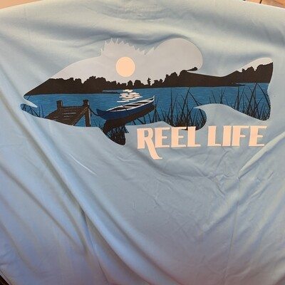 Reel Life Men's Long Sleeve UV