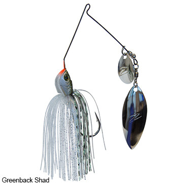Z-Man Sling Bladez Colorado Willow Spinnerbait