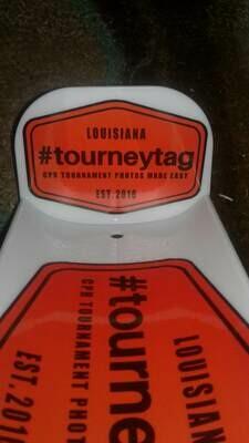 TourneyTag Bump Board Decal