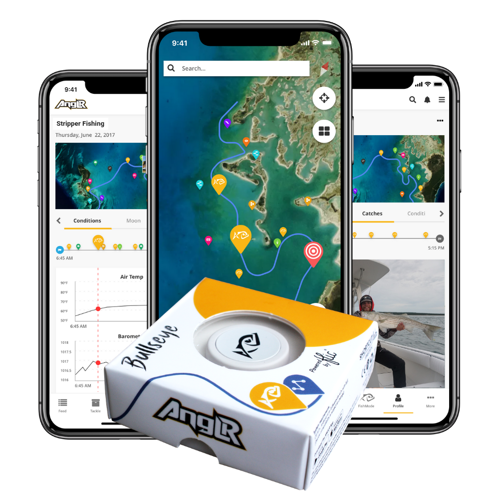ANGLR Bullseye Bluetooth Fishing Tracker