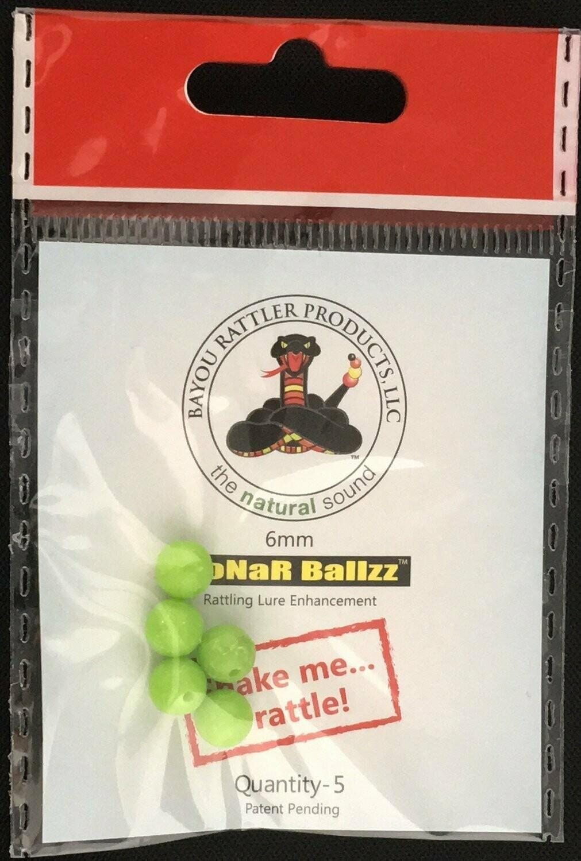 Bayou Sonar Ballzz 6mm