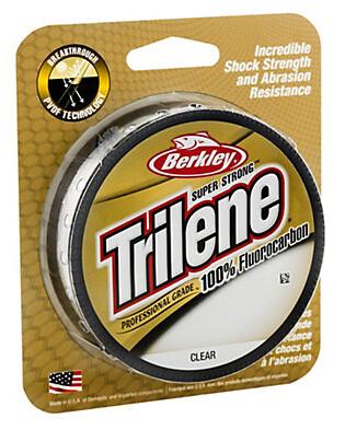 Berkley Trilene 100% Fluoro Professional Grd Clear