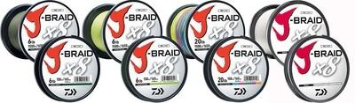 Daiwa J-Braid x8 Braided Line Dark Green