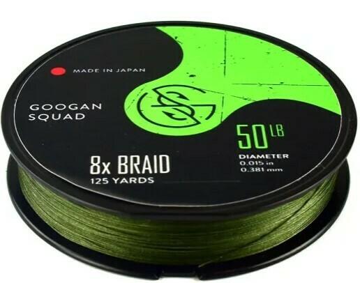 Googan Squad Braided Line 8x