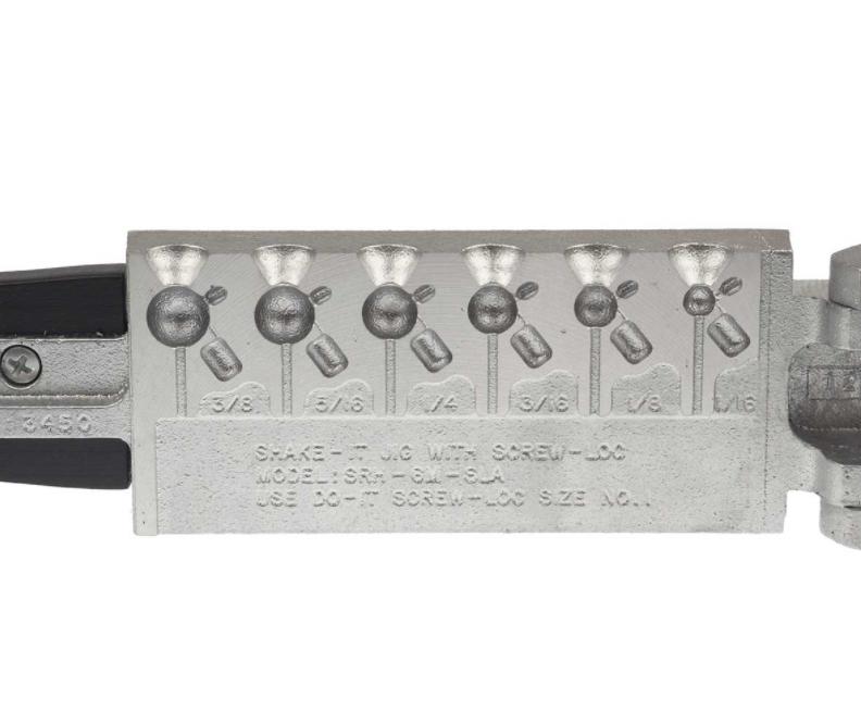 Do-It #3450 Shake-It w/Screw-Loc Jig Mold SRH-6M-SLA