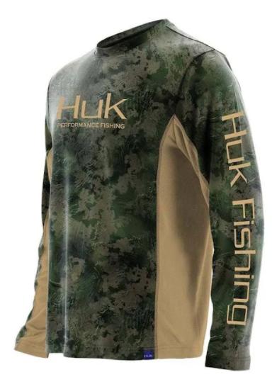 HUK Icon Camo Long Sleeve