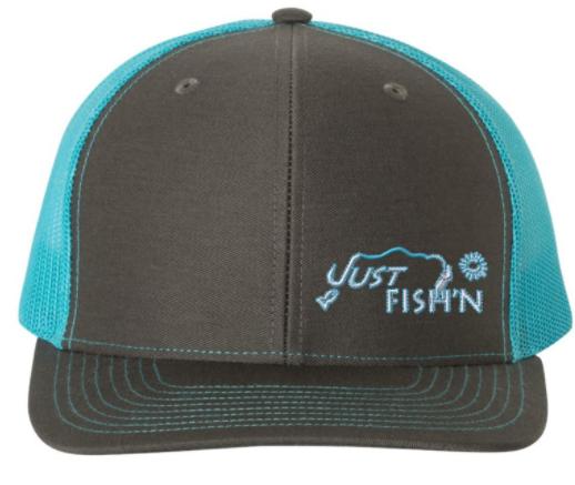 Just Fish'n Mesh Back Snapback Hat