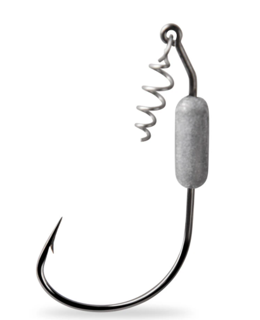 Mustad Power Lock Plus Spring Keeper Weighted