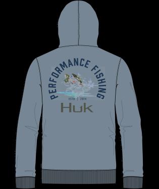 Huk Bass Hoodie