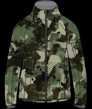 Huk Icon X Soft Shell Camo Jacket