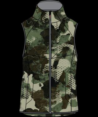 Huk Icon X Softshell Camo Vest
