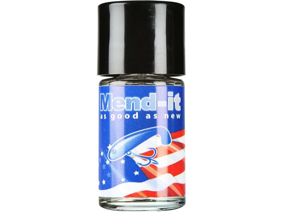 Mend-It! Soft Bait Glue 1oz Glass Bottle