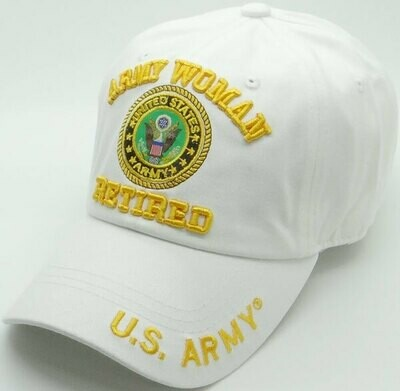 WOMAN ARMY RETIRED (cotton)