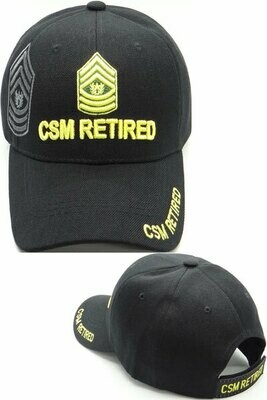 CSM RETIRED
