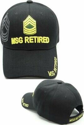 MSG RETIRED