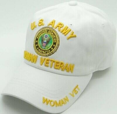 WOMAN ARMY VETERAN (cotton)