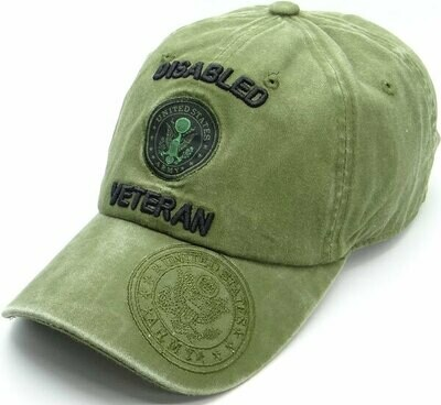 DISABLED ARMY VETERAN (cotton)