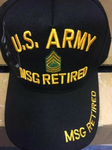 ARMY MSG RETIRED