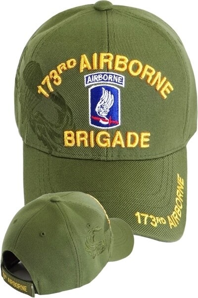 173rd AIRBORNE (green)