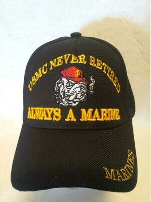 USMC NEVER RETIRED