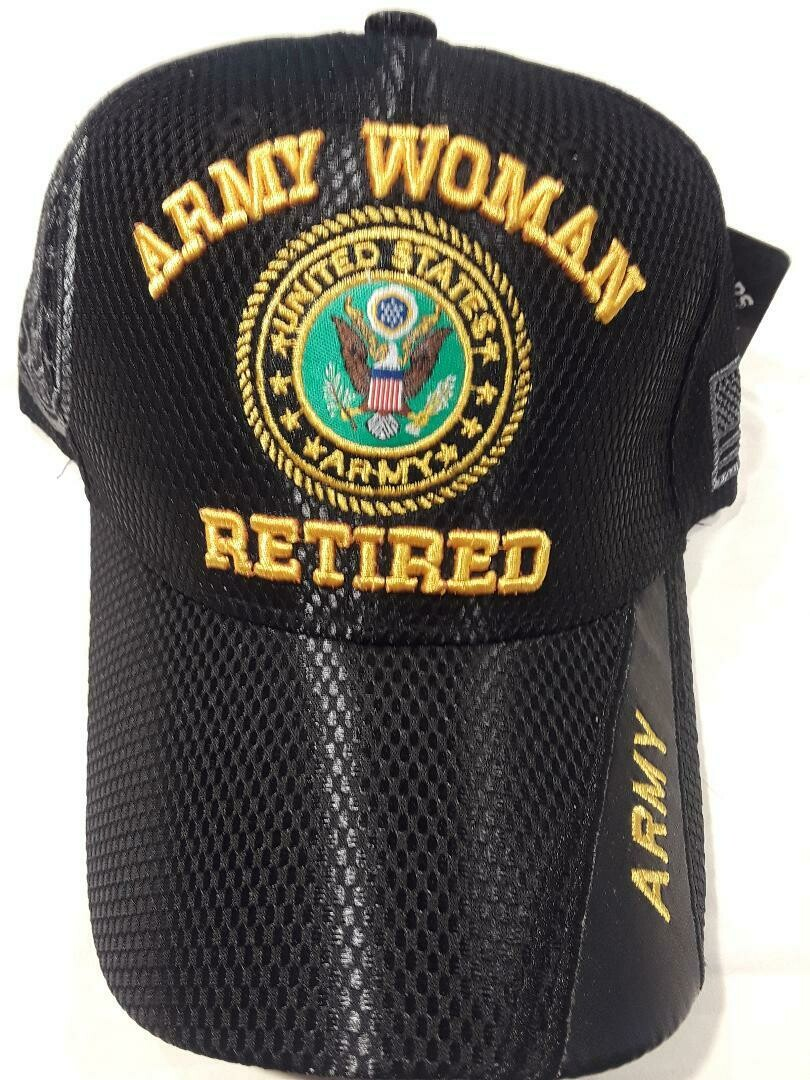 ARMY WOMAN RETIRED (summer mesh)