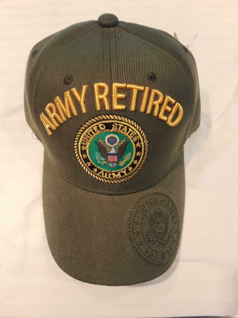 ARMY RETIRED (green)
