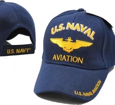 U.S. NAVAL AVIATION (blue)