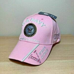 U.S. NAVY WOMAN VETERAN (pink)